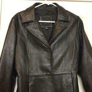 ANDREW MARC Women's Leather Jacket
